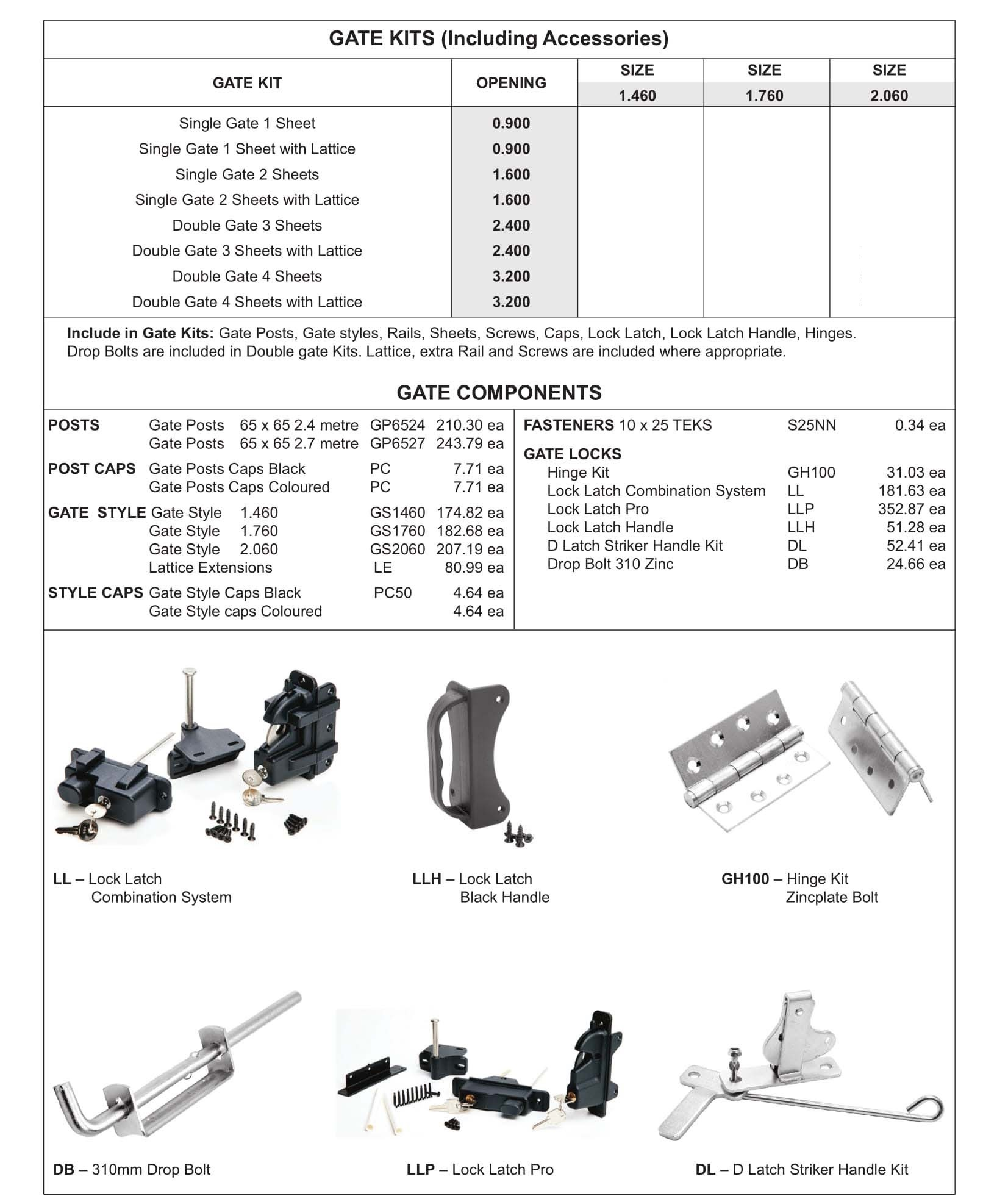 Roofmart Gates Amp Accessories